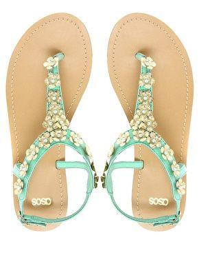 ASOS FETE Flat Sandals