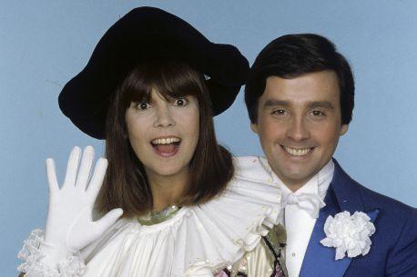 Chantal Goya et Thierry Le Luron en décembre 1980