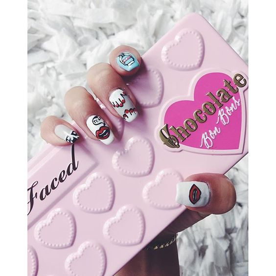 #regram from @iamkareno:  & my fave palette #chocolatebarpalette #toofaced by toofaced
