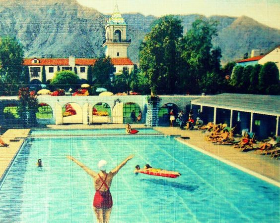 Photographs Vintage California And Pools On Pinterest