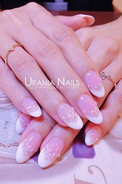 Wedding Nails http://blog.urania.com.tw/?p=663