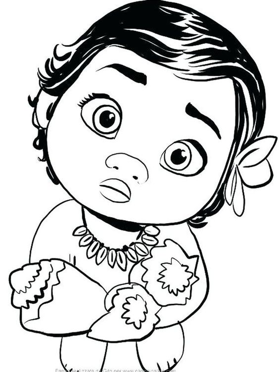 Printable New Baby Coloring Pages Pdf Below Is A Collection Of Cute Baby Coloring Page That You Disney Coloring Pages Baby Coloring Pages Moana Coloring Pages