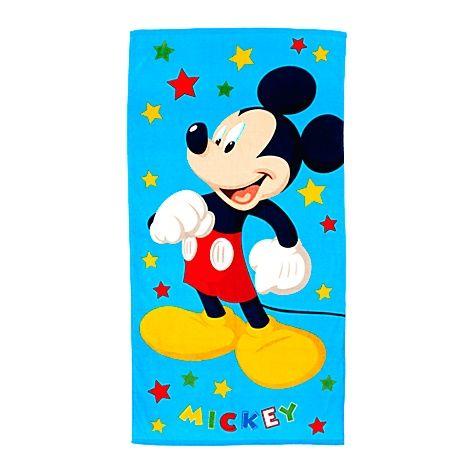 Serviette de plage étoiles Mickey - Disney Store
