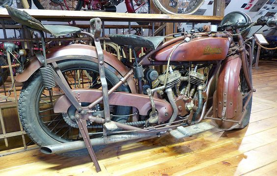 Indian Scout 37 ci 1926 red hr | by stkone