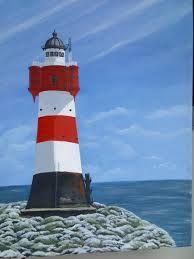 Bildergebnis für gemalte leuchttürme