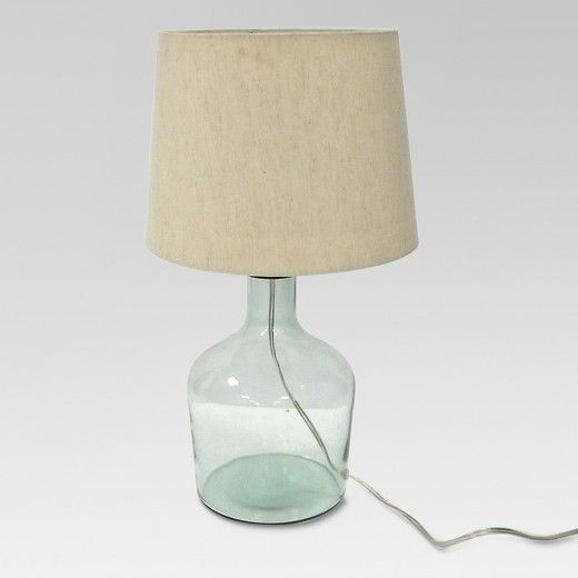 Bring Clarity Into The World With The Design For Good Table Lamp From Project 62 Made Of Recycled Gla Energy Efficient Light Bulbs Glass Table Lamp Table Lamp