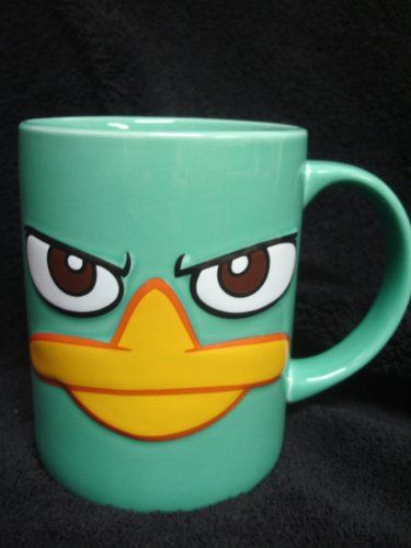 Agent P Phineas & Ferb 16oz Ceramic Mug @ niftywarehouse.com