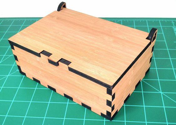 laser cutting box - Google Search