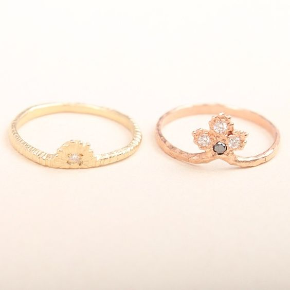 Yayoi Forest Rings available at www.catbirdnyc.com.