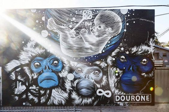 Dourone aka Fabio Lopez in Echo Park, Los Angeles, California, USA, 2015
