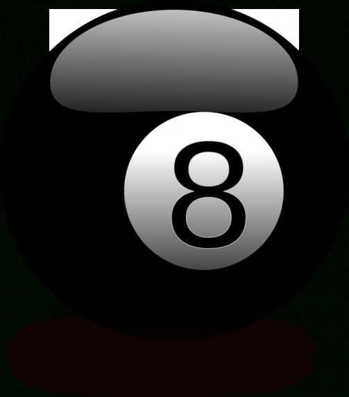 16 8 Ball Images On Black Background Png Images In 2020 Balls Image Black Backgrounds Image