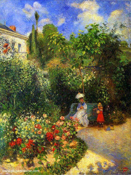 Camille Pissarro (1830-1903)  - for more inspiration visit http://pinterest.com/franpestel/boards/