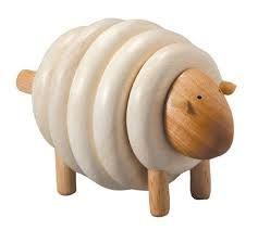 PLan Toys chunky Sheep. Wooden toys. Imaginative Play. Preschooler. Preschool. Toddler. Fun. Learning. Educational.