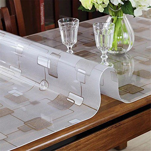 Lovepads Multi Size Pvc Table Protector Cover Desk Pad Mat For