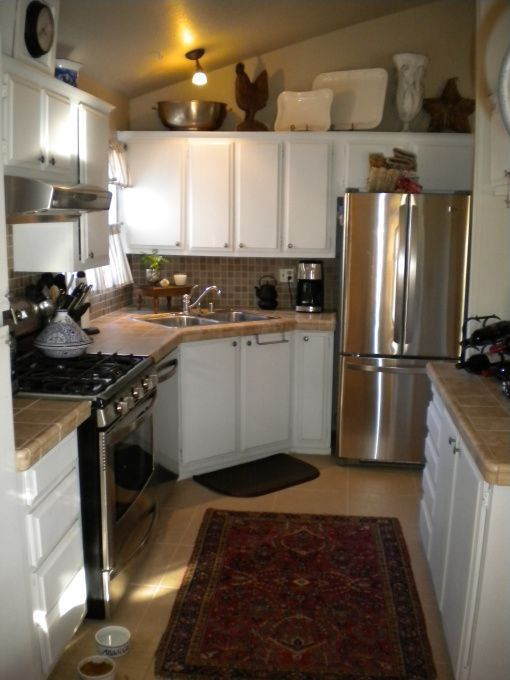 Mobile Home Kitchens Manufactured Home Decorating And Modern Cottage Style On Pinterest