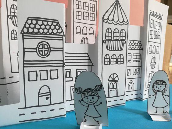 nyomtatható városka gyerekeknek