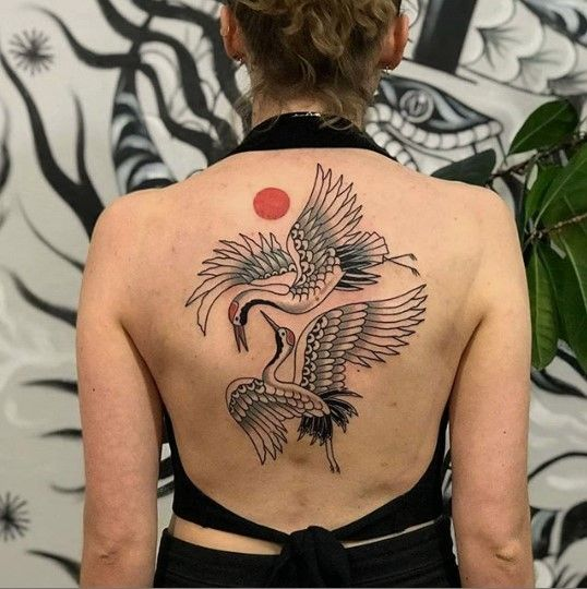 15 Bird Tattoos Ideas And Their Meanings Full Sleeve Tattoos Pattern Tattoo Japanese Tattoo