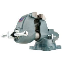 "C-3 Combination Pipe and Bench Vise, Swivel Base, 6"""""""" Jaw Width, 9"""""""" Jaw Opening, 6-5/8"""""""" Throat Depth"
