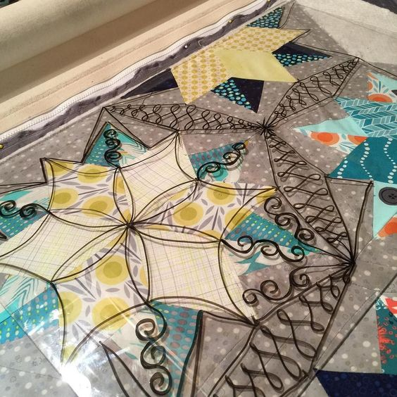 """I """"think"""" this will be my finally decision. But something might change getting into it. #night sky #jaybird quilts #customquilting by dixiethue"""