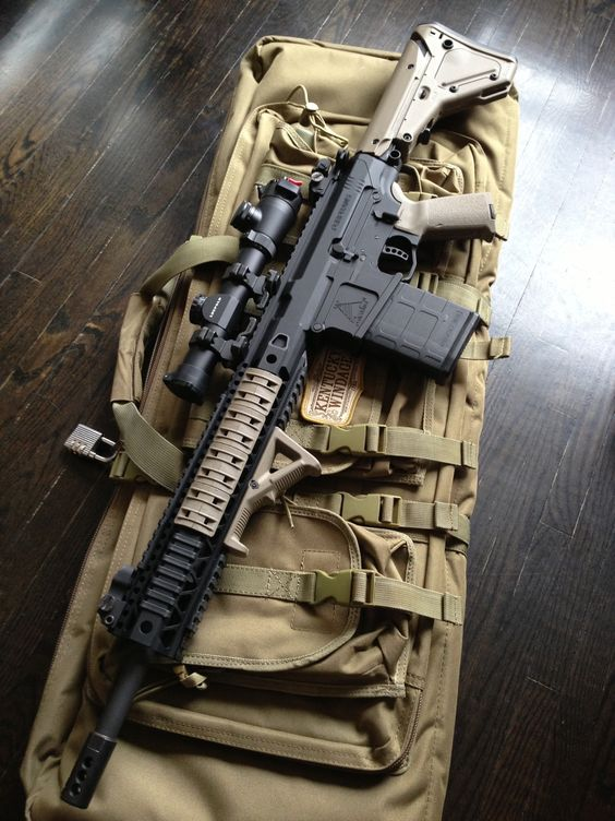 Ferfrans by Mega Arms .308 Magpul accessories