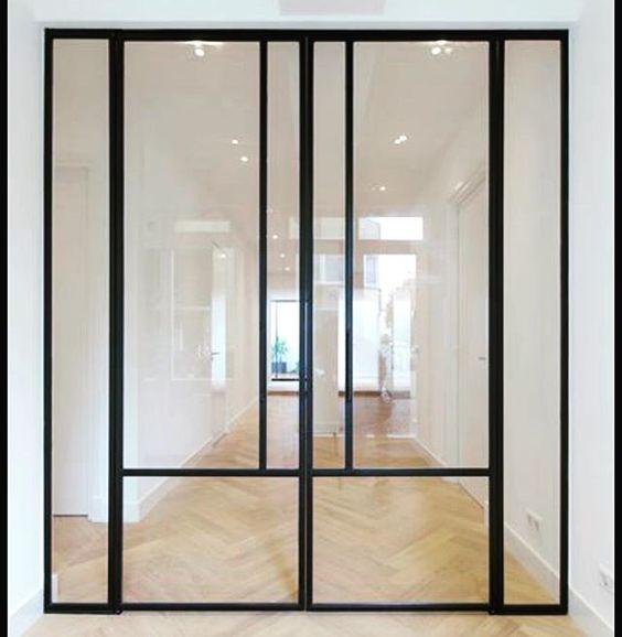 #steeldoors #woodenfloor #interieur #project #projectmanagement #interiordesign #interior #door #verbouwen #patio #amsterdam