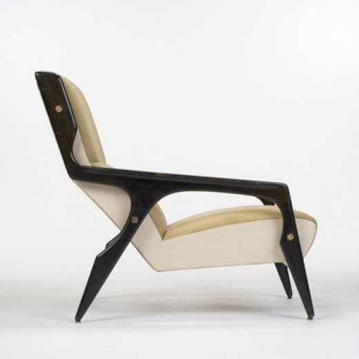 Gio Ponti . hotel Parco dei Principi chair, for Cassina, 1964