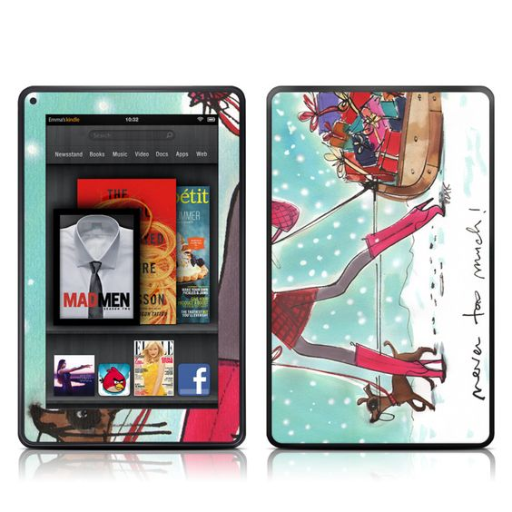 Never too much.    ~Featuring http://www.istyles.com/skins/tablets/amazon-kindle/amazon-kindle-fire/never-too-much-amazon-kindle-fire-skin-p-83421.html