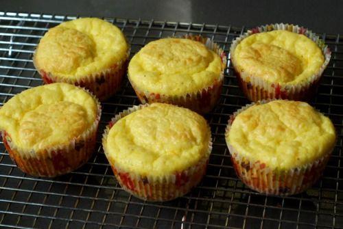 cheesy egg muffins - paleo