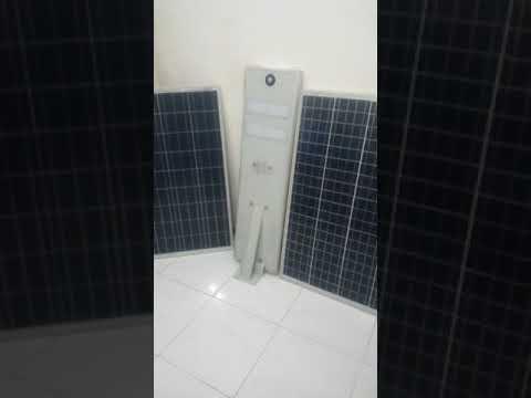 Lampu Pju All In One Solar Cell Tenaga Surya Wijaya Solar Energy 082231197352 Youtube Tenaga Surya Lampu Kap Lampu