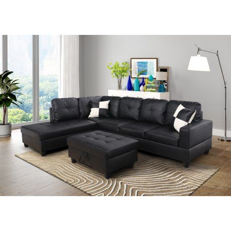 Home Sectional Sofa Furniture Leather Sectional