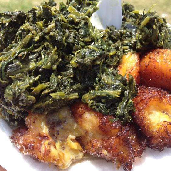 Jama jama and plantains at Congo Food are serious delicious business