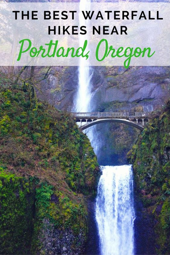 With some of the best waterfall hikes in the Pacific Northwest less than an hour from town, Portland residents and visitors don't have to travel far to get close to nature. If you want to chase waterfalls in Portland, Oregon. Start here.