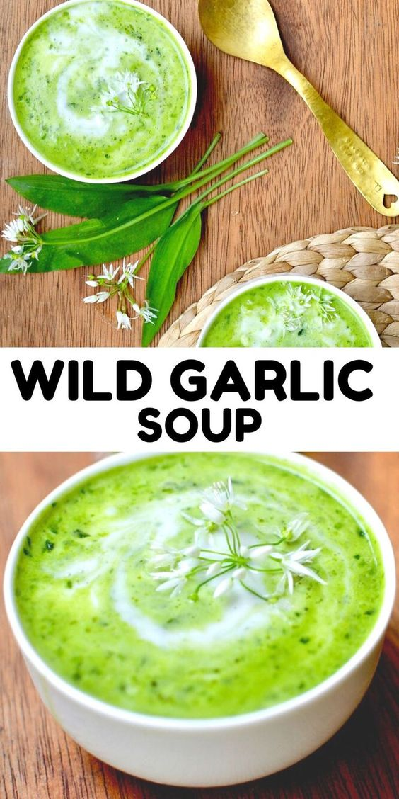 Creamy Wild Garlic Soup