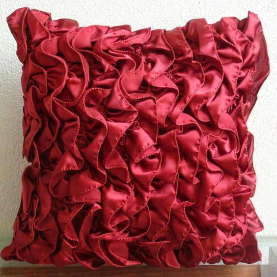 Vintage Rubys  Throw Pillow Covers  16x16 Inches by TheHomeCentric, $19.95