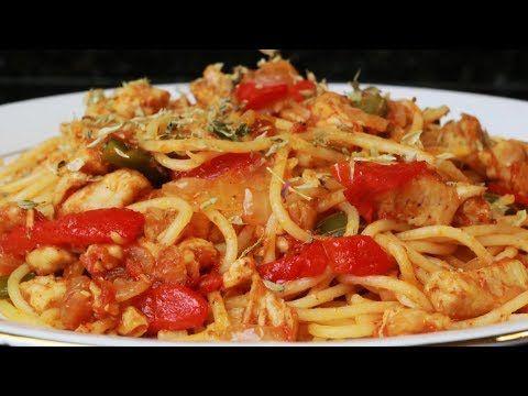 Espaguetis Con Verduras Pasta Con Verduras Youtube Con Imágenes Espagueti Con Verduras Pasta Con Verduras Recetas De Pastas