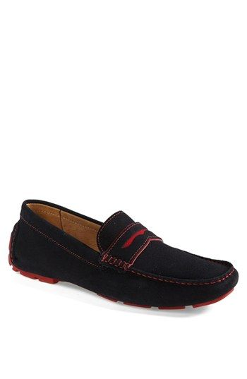 1901 'Miami' Suede Driving Shoe (Men) available at #Nordstrom