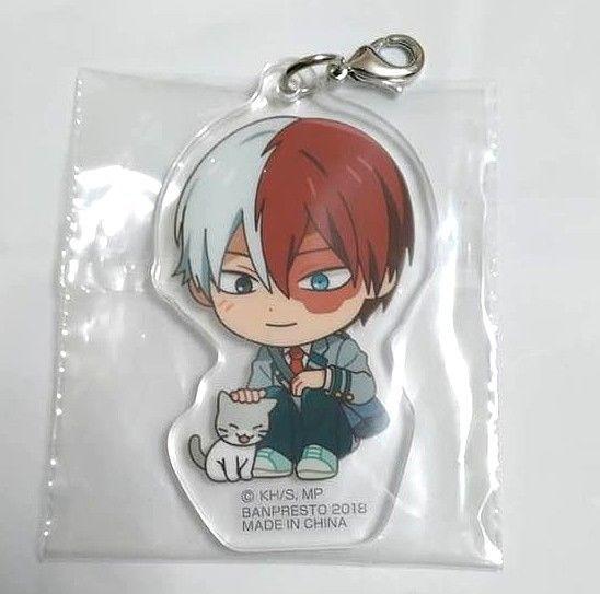 Boku No Hero Academia Keychain My Hero Academia Todoroki Shoto Phone Strap