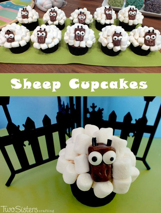Cupcake Decorating Ideas With Marshmallows : Pinterest   The world s catalog of ideas