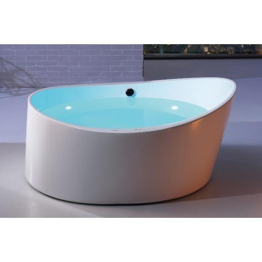 Eago Am2130 5 5ft Round Freestanding Acrylic Air Bathtub
