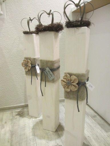 Holzwurm - Kreatives für Haus und Garten - Dekosäule