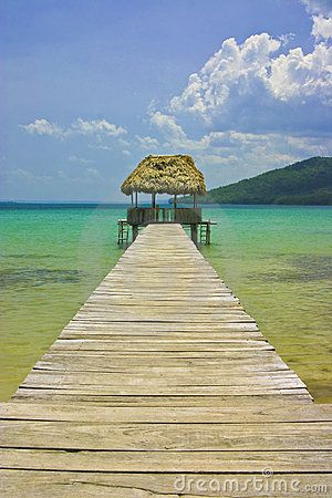 The magnificent Lake Peten Itza in Guatemala not far from the border from Belize