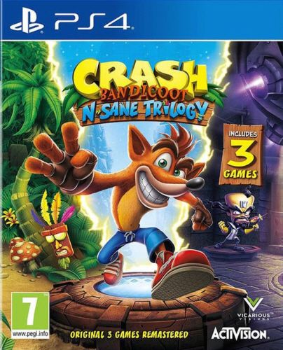 Crash Bandicoot N Sane Trilogy Ps4 Ps4