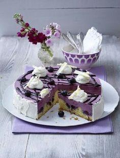 Lila Heidelbeer-Torte Rezept…
