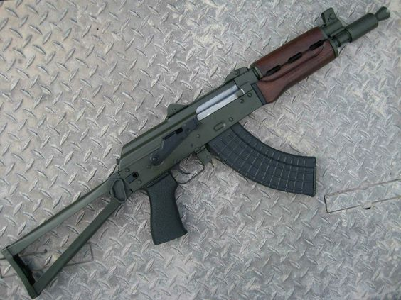 Yugo PAP m92 pistol converted to Krink style SBR
