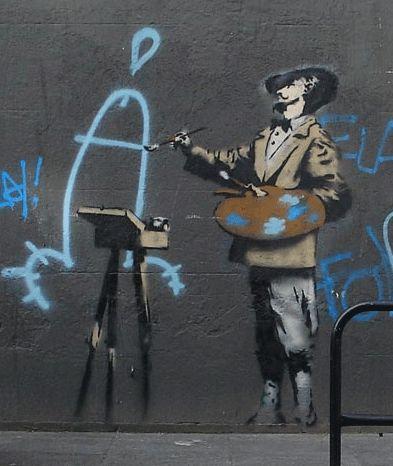 Banksy - peintre