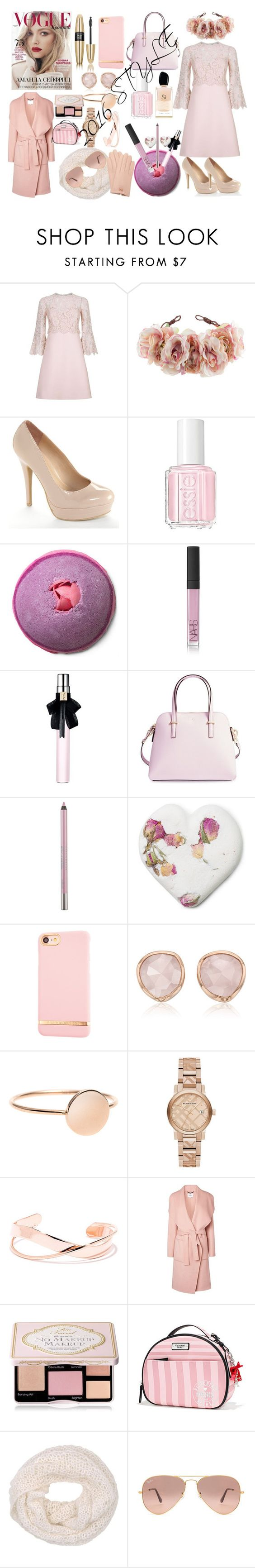 """""""The style of 2016"""" by colourlover24 ❤ liked on Polyvore featuring Valentino, Rock 'N Rose, LC Lauren Conrad, Essie, Giorgio Armani, NARS Cosmetics, Yves Saint Laurent, Kate Spade, Urban Decay and Richmond & Finch"""