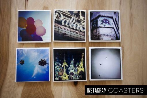 #Instagram coasters: Diy Crafts, Coasters Photos, Photo Tile, Ceramic Tile, Instagram Photo