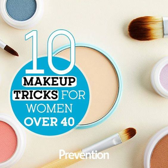 10 Essential Makeup Tricks For Women Over 40