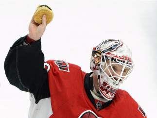 Ottawa Senators' Andrew Hammond, came from nowhere to lead the team on an historic run.