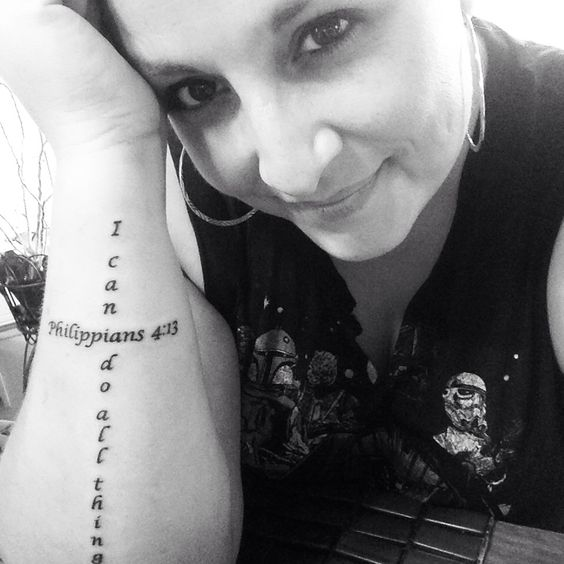 Bible Quote Tattoos About Strength: Tattoos On Forearm, Bible Verse Tattoos And Verse Tattoos